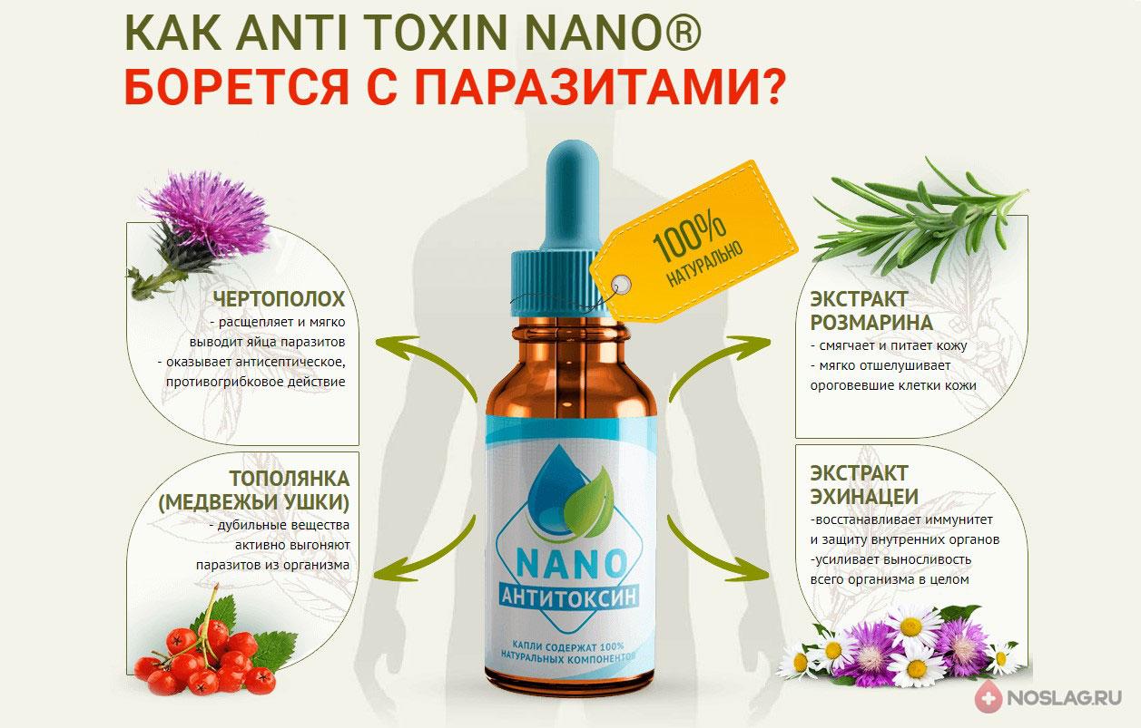 Антитоксин Нано от паразитов 3