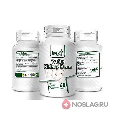 Капсулы для похудения с основой белка белой фасоли (180 шт)